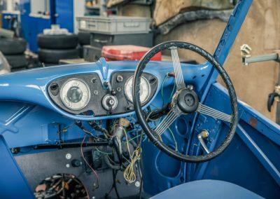 Oldtimer blau
